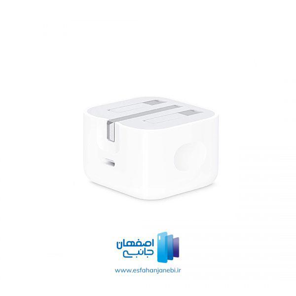 آداپتور شارژر اصلی 20 واتی اپل آیفون 12 | اصفهان جانبی