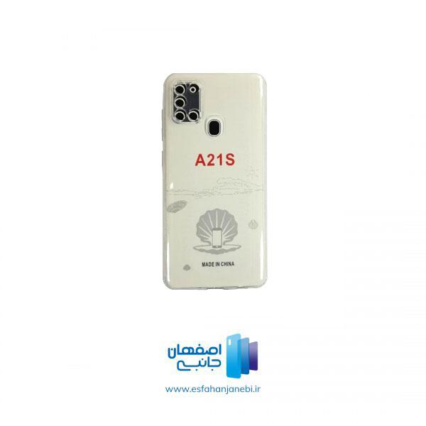 گارد شفاف سامسونگ A21S | اصفهان جانبی