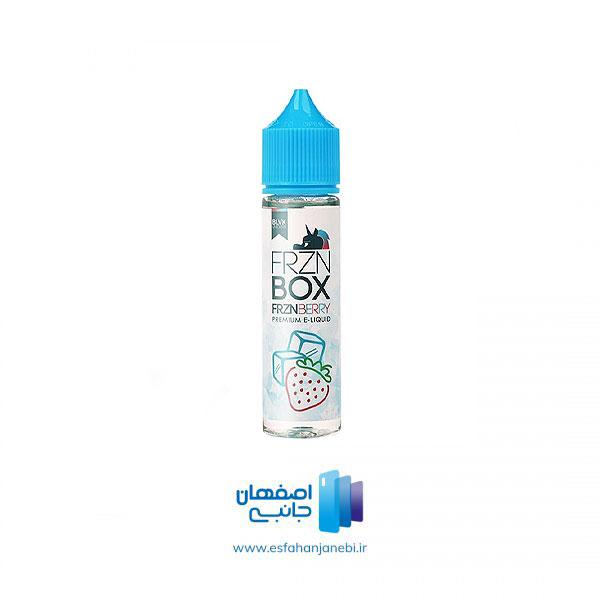 جویس 60 میلی لیتری توت فرنگی یخ BLVK Unicorn Frzn BOX Frzn Berry | اصفهان جانبی
