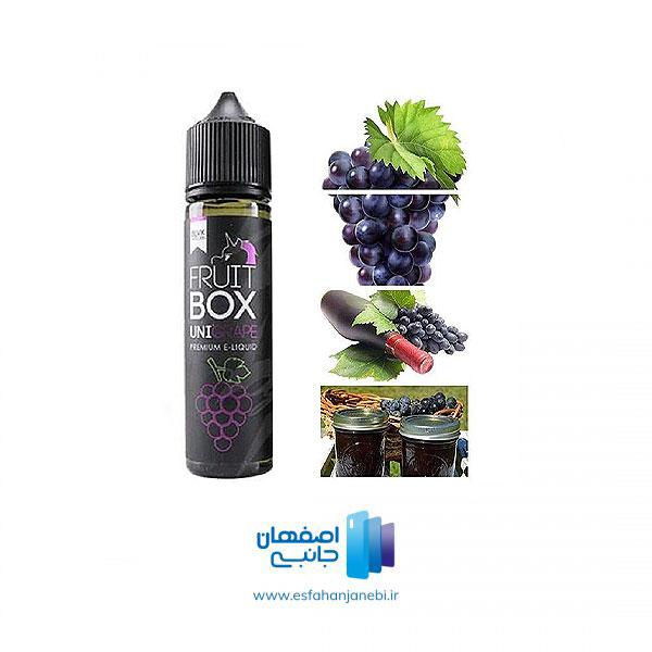 جویس 60 میلی لیتری انگور سیاه BLVK Unicorn Fruit BOX UniGrape | اصفهان جانبی