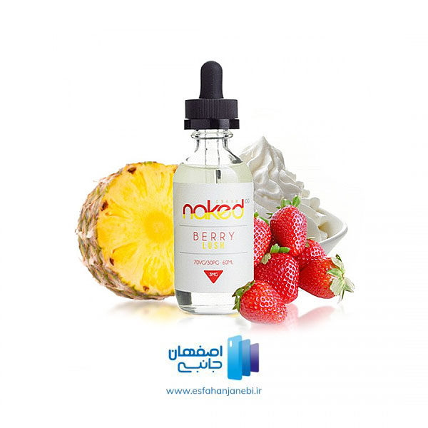 جویس 60 میلی لیتری توت فرنگی آناناس خامه نِیکِد N a k e d | اصفهان جانبی