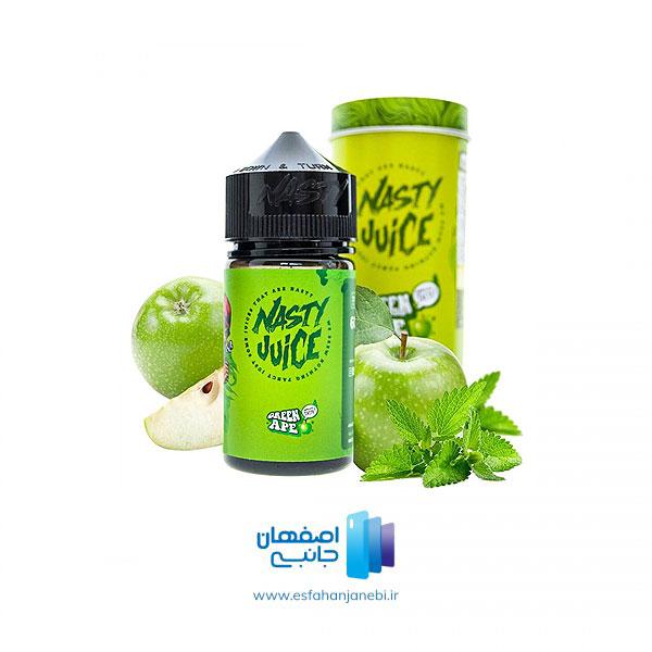 جویس 60 میلی لیتری سیب ترش نعناع از نستی Nasty | اصفهان جانبی