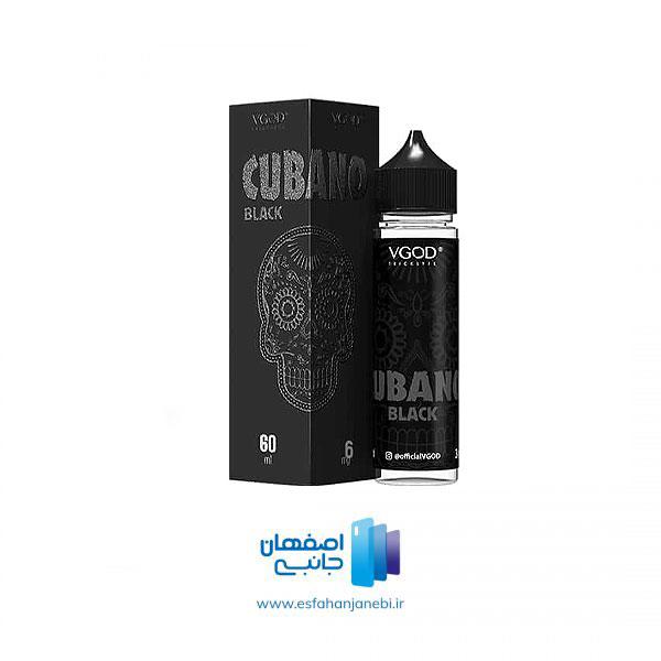 جویس 60 میلی لیتری تنباکو وانیل VGOD Cubano Black | اصفهان جانبی