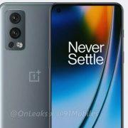 ظاهر OnePlus Nord 2 5G فاش شد.